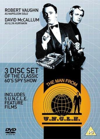 "Poster for the '60s TV series ""The Man from U.N.C.L.E."""