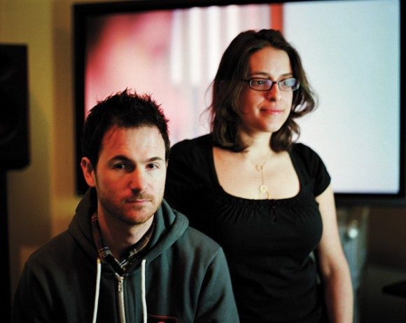 Writer/Director Ryan Fleck (left) and Anna Boden