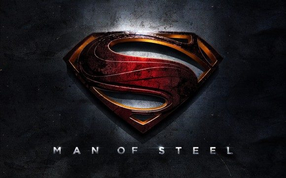 man of steel emblem poster