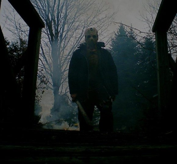 Jason Voorhees in New Line Cinema's 2009 remake of 'Friday the 13th'.