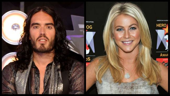 Russell Brand and Julianne Hough star in 'Paradise'.