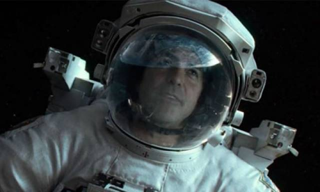 George Clooney in 'Gravity'