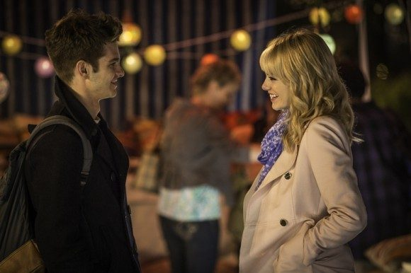 amazing spider man 2 peter and gwen
