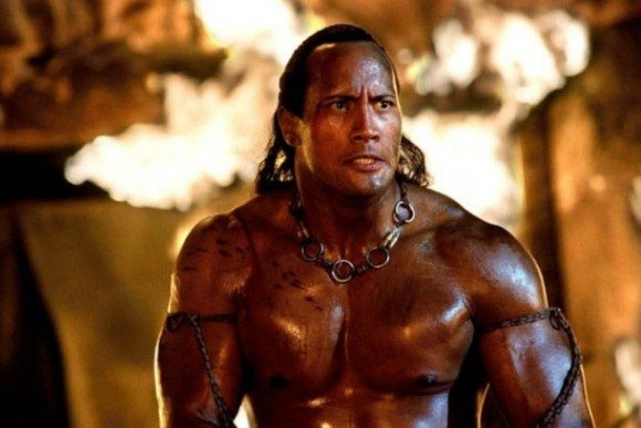Dwayne Johnson, seen here in 2002's 'The Scorpion King'