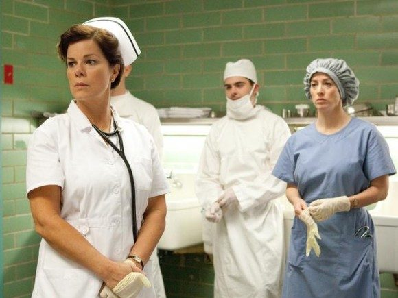 Marcia Gay Harden as Parkland nurse Doris Nelson