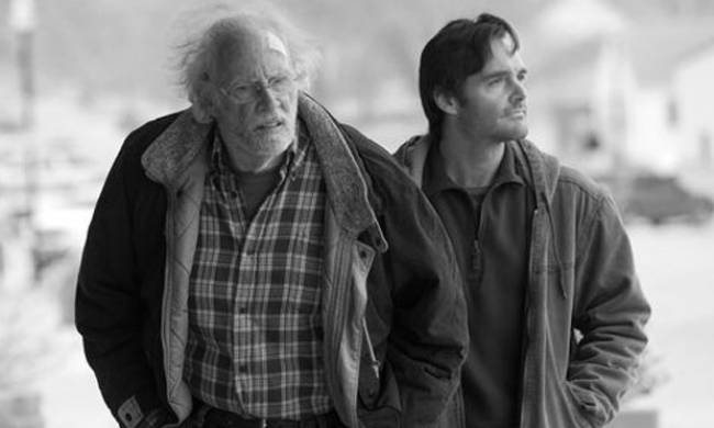 Bruce Dern and Will Forte head to Nebraska to collect an imaginary sweepstakes prize.