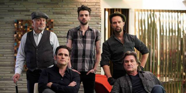 Terence Stamp, Matt Dillon, Jay Baruchel, Chris Diamantopoulos, and Kurt Russell.