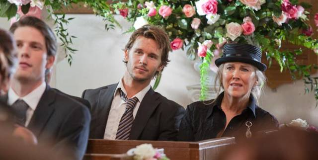 Ryan Kwanten and Catherine O'Hara.