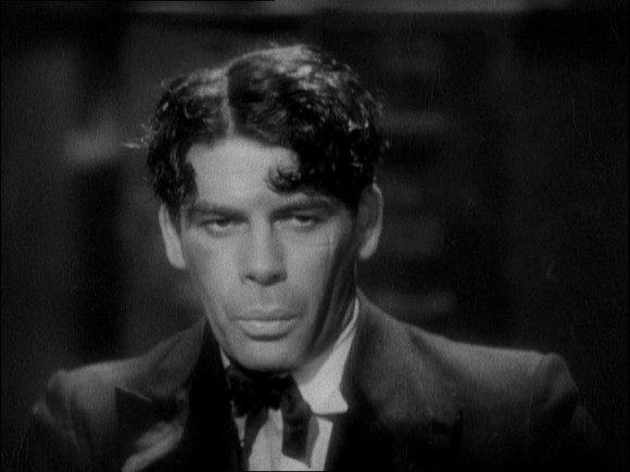 Paul Muni as Tony Camonte in the original 'Scarface' film