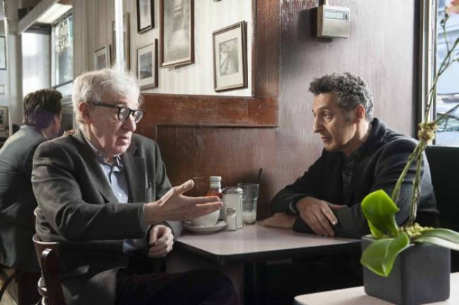 Woody Allen and John Turturro as Murray and Fiorante in 'Fading Gigolo'.
