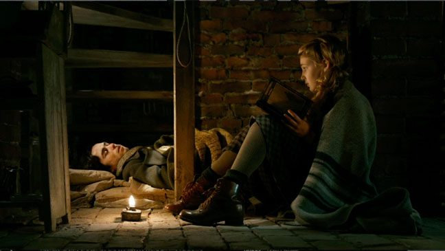 Bet Schnetzer and Sophie Nelisse in 'The Book Th ief'.
