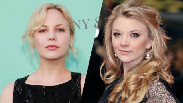 Adelaide Clemens and Natalie Dormer of 'The Girl Who Invented Kissing'.