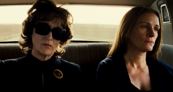 Meryl Streep and Julia Roberts in 'August: Osage County'