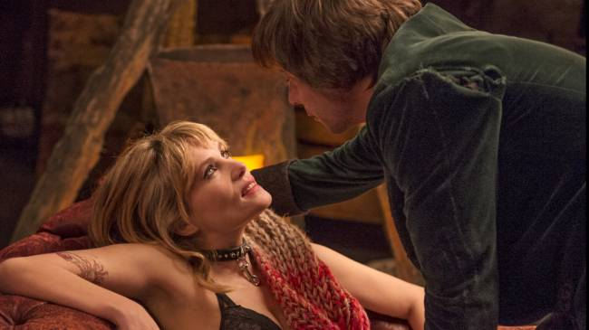 Emmanuelle Seigner and Mathieu Amalric in 'Venus In Fur'