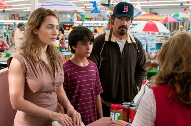 "Kate Winslet, Gattlin Griffith and Josh Brolin in ""Labor Day'."