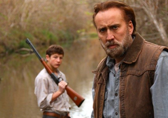 Nicholas Cage and Tye Sheridan in 'Joe'