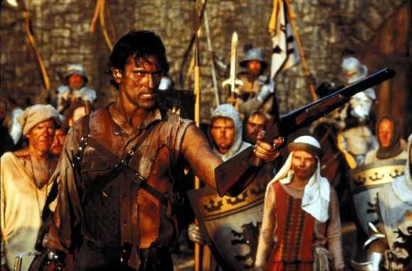 Bruce Campbell in Sam Raimi's 'Army of Darkness'