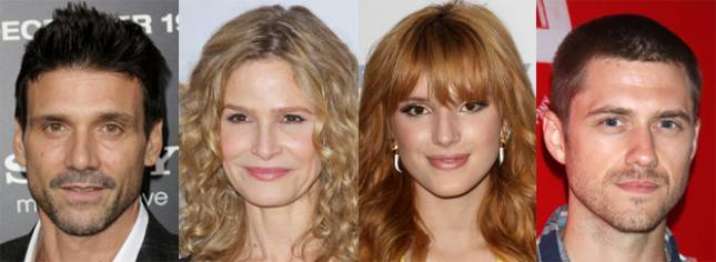 Frank Grillo, Kyra Sedgwick, Bella Thorne, Aaron Tveit of 'Big Sky'
