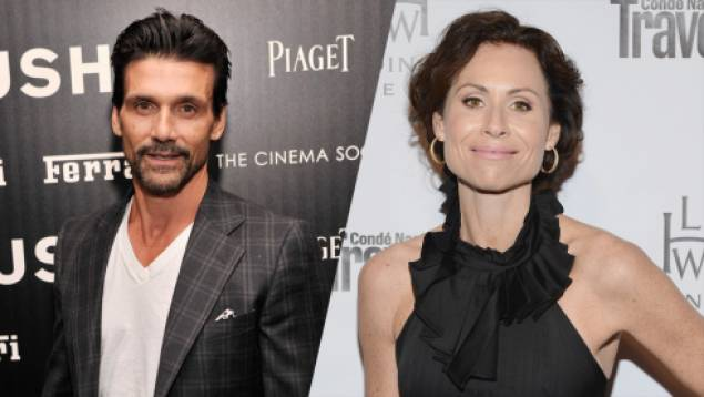 Frank Grillo and Minnie Driver will star in 'A Conspiracy On Jekyll Island'