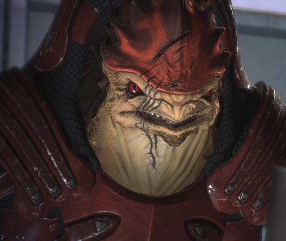 "Will Protosevich miss working on 'Mass Effect'? ""I'll miss Wrex"""