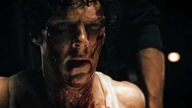 Benedict Cumberbatch in his indie production 'Little Favour'