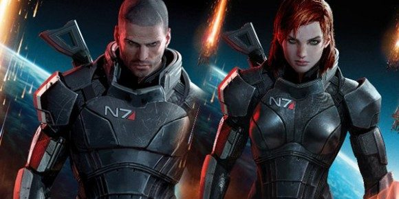 Among the decisions the production must make is whether to go with the male or female version of Commander Shepard. The gender of the protagonist is among the many player choices in the game.