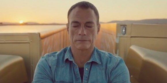 Van Damme in his viral Volvo Commercial