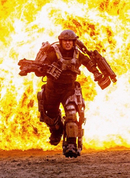 Tom Cruise as Major William Cage in 'Edge of Tomorrow'