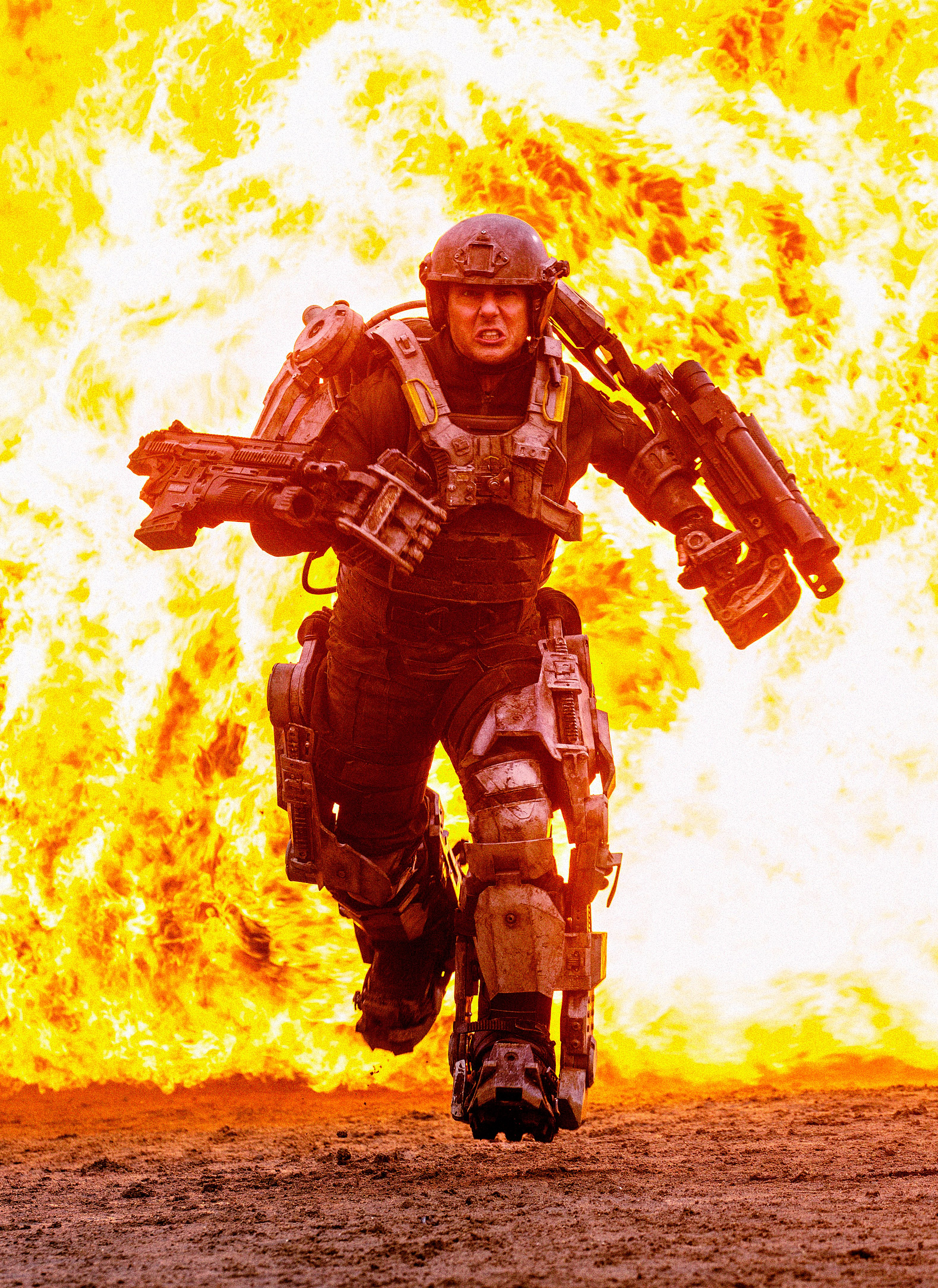 Tom Cruise Caught In A Time Loop In Edge Of Tomorrow Trailer