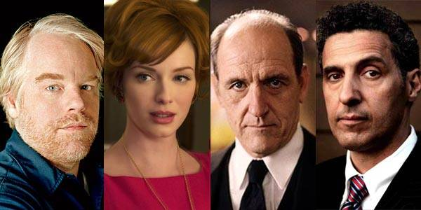 Philip Seymour Hofman, CHristina Hendricks, Richard Jenkins and John Turturro of 'God's Pocket'