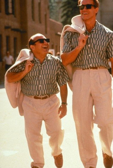Danny DeVito and Arnold Schwarzenegger in 1988's 'Twins'