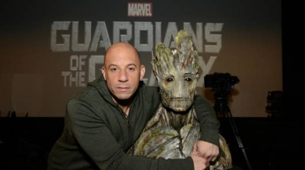Vin Diesel is Groot in 'Guardians Of The Galaxy'