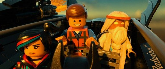 LEGO Movie Chris Pratt Morgan Freeman Elizabeth Banks