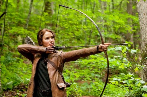 jennife lawrence katniss hunger games
