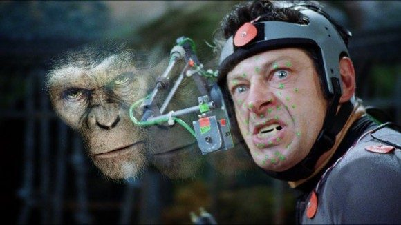 Andy Serkis as Caesar in 'Rise of the Planet of the Apes'
