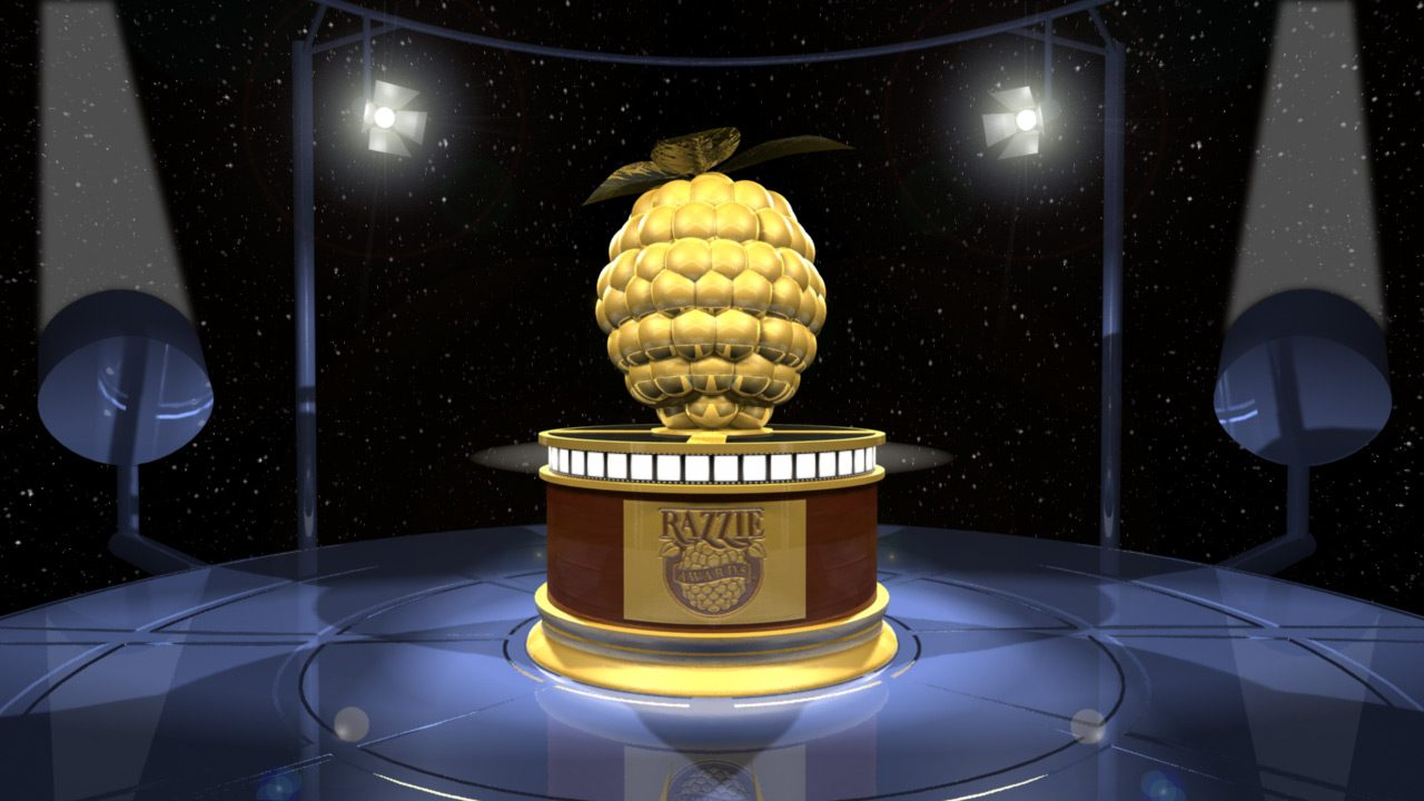 Get Ready for The First Televised Razzie Ceremony!