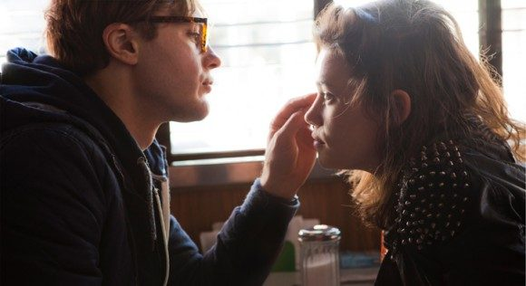 Michael Pitt and Astrid Bergès-Frisbey in 'I Origins'