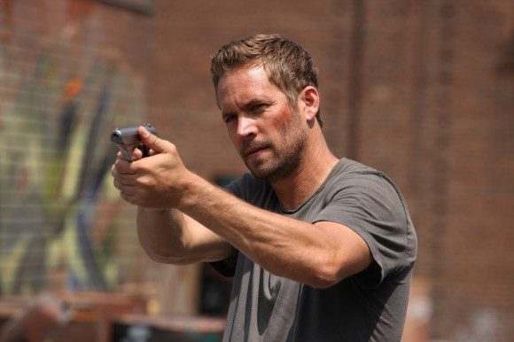 Yes, that's Paul Walker. 'Brick Mansions' was one of the last films he finished before his untimely death.