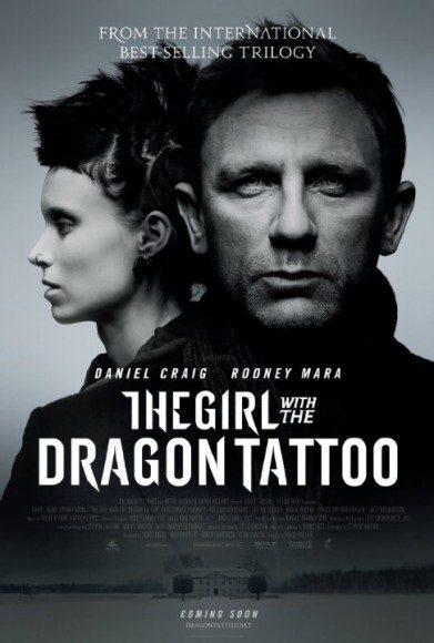 girl with the dragon tattoo poster