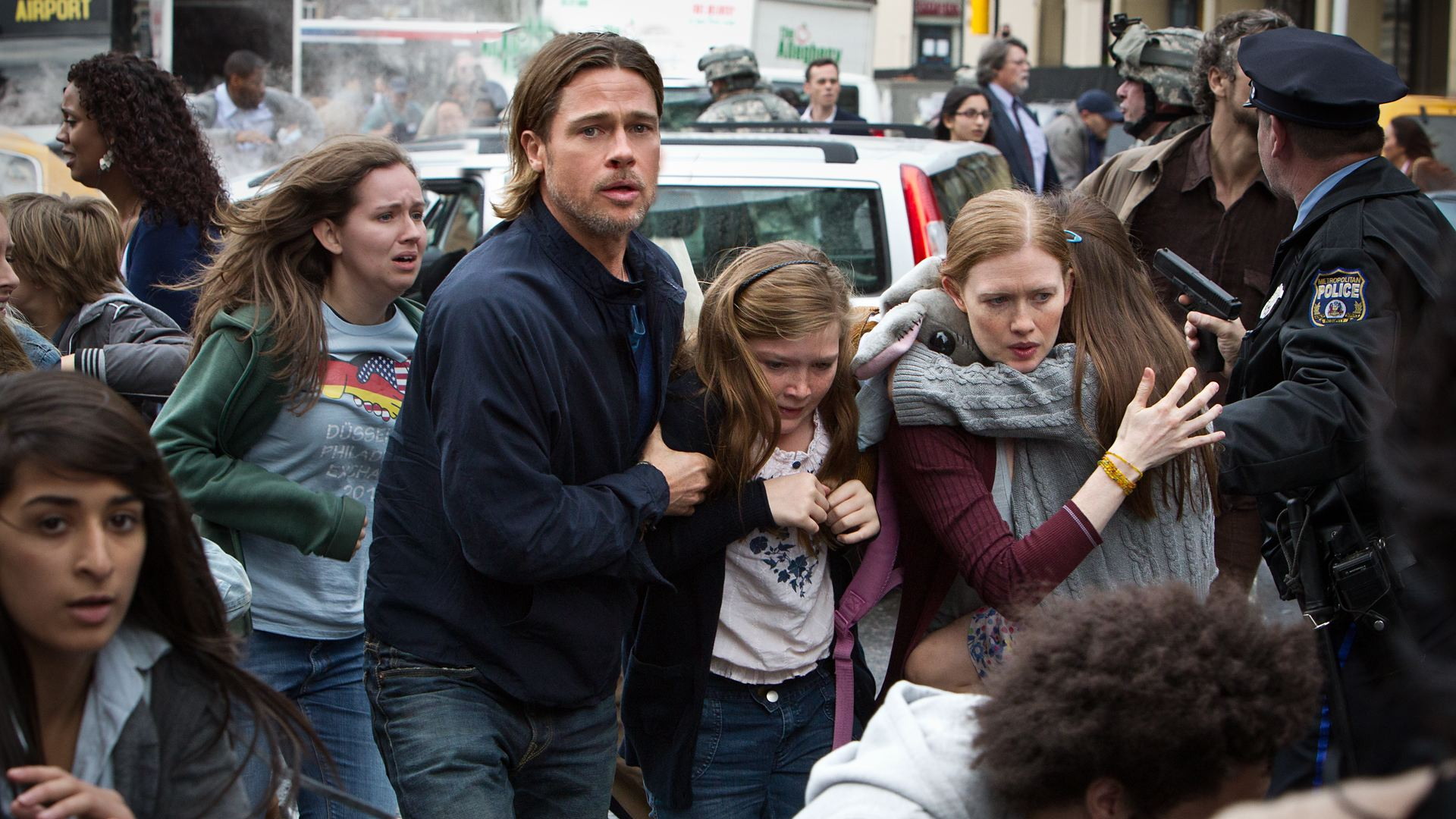 Brad Pitt Eyes Down David Fincher for 'World War Z' Sequel