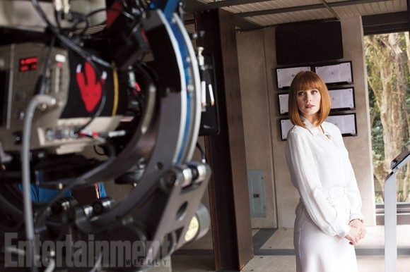 "The first images from 'Jurassic World"" appeared in Entertainment Weekly earlier this year."