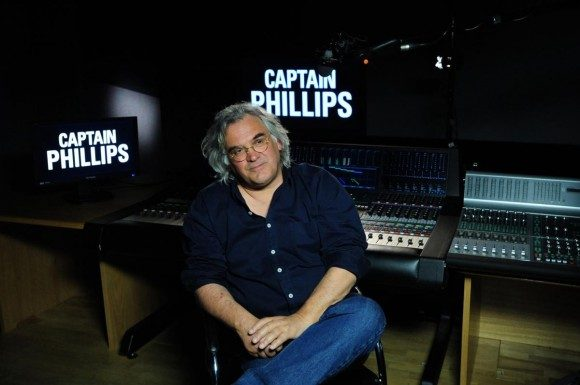 Greengrass at work in his most recent film, Captain Phillips.