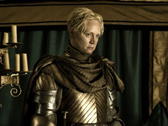 Gwendoline Christie as Brienne of Tarth in HBO's 'Game of Thrones'