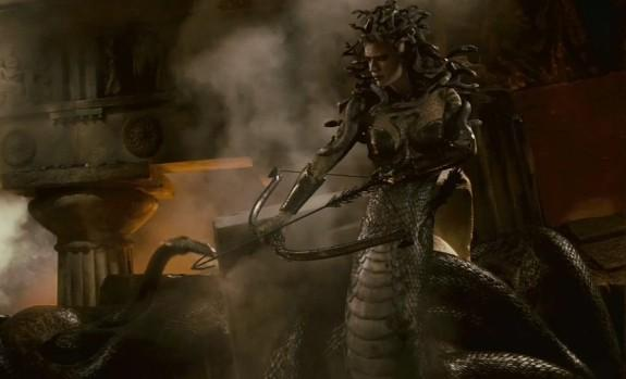 Medusa's last major on-screen appearance, in 2010's 'Clash of the Titans'