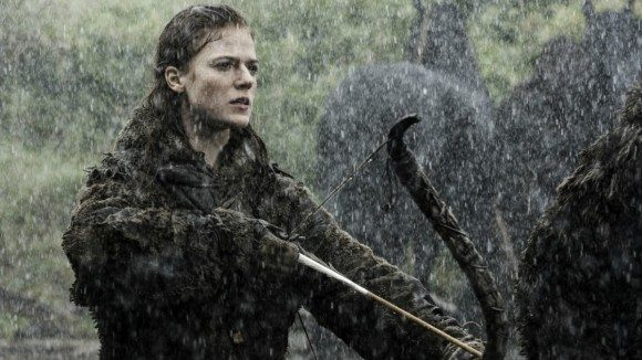 Rose Leslie as Ygritte on 'Game of Thrones'