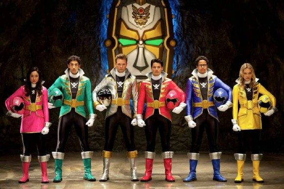 The cast of Super Megaforce, the current season of Power Rangers
