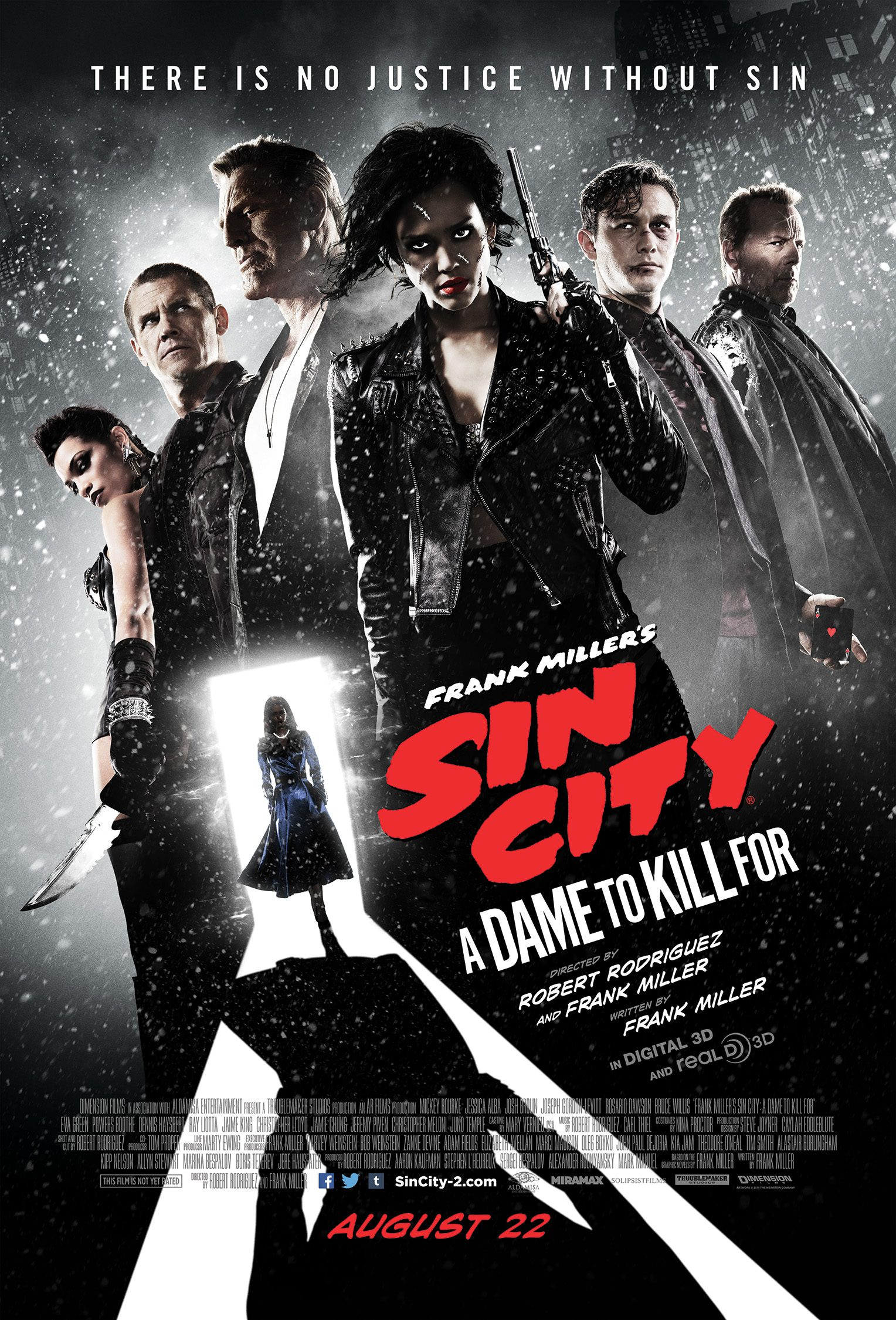Movie Review Sin City A Dame To Kill For Mxdwn Movies