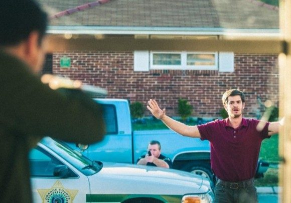 Andrew Garfield stars with Michael Shannon in '99 Homes'