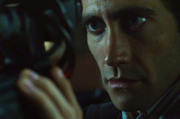 Gyllenhaal creeped out festival-goers as Lou Bloom in 'Nightcrawler'