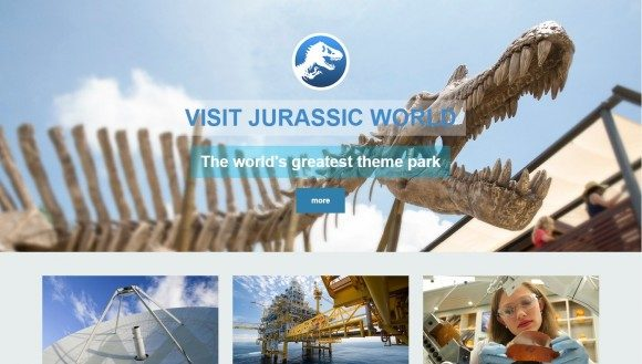 Jurassic World Site